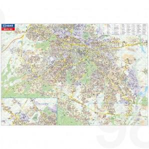 Podrobna Karta Na Sofiya 1 20 000 Roel 98