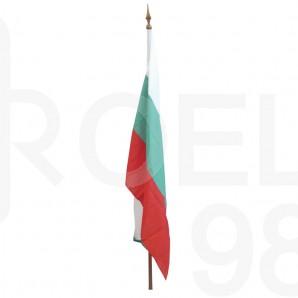 Знаме Република България, шито, 129 х 215 см