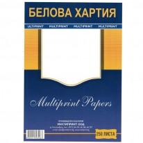 Белова хартия, 60гр./м2, А4, 500 л.