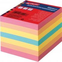 Резервно кубче Herlitz, нелепено, цветно, 550 л., в целофанова опаковка