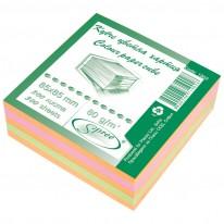 Кубче цветно Spree, офсет, 85 x 85 мм, 80гр./м2, 300 л.
