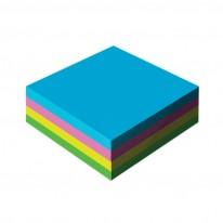 Кубче Black & White, 8,6 x 8,6 см, 400 л., 4 цвята