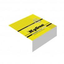 Кубче Black & White, 8x 8 см, 250 л., бяло, офсет