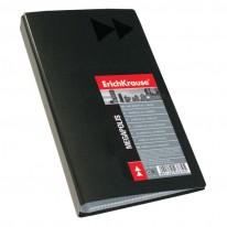 Визитник ErichKrause Megapolis, 110 х 250 мм, 128 визитки