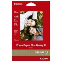 Хартия Canon Plus Glossy II PP-201, 13 x 18 см, 20 л.