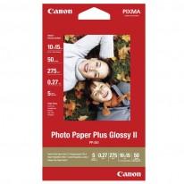 Хартия Canon Plus Glossy II PP-201, 10 x 15 см, 50 л.