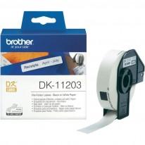 Етикети Brother DK 11203, 17x 87 мм, 300 бр.