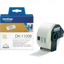 Адресни етикети Brother DK 11208, 38x 90 мм, 400 бр.