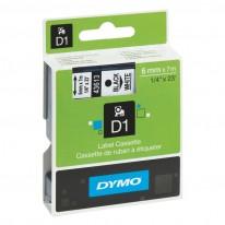 Етикети Dymo, 6 мм x 7 м, хартиени