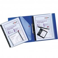 Папка Snopake с копче, стандартна, за класьор, A4