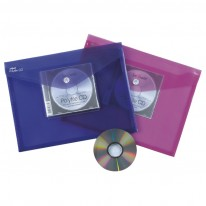 Папка Snopake с копче и джоб за CD, A4