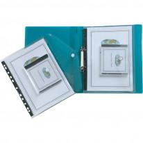 Папка Snopake с копче и джоб за CD, за класьор, A4