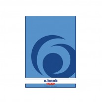 Блокнот Herlitz x.book, А5, редове, 50 л.