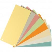 Разделител Herlitz, картон, 105 х 240 мм, 100 бр./оп.