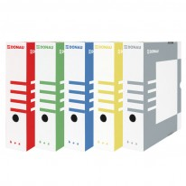Архивна кутия Donau, различни цветове, 339 х 297 х 80 мм.