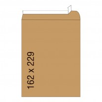 Кафяв плик, СЗЛ, C5, 162 х 229 мм