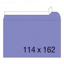 Плик с лепило, C6, 114 х 162 мм, дълга страна