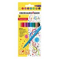 Eberhard Faber Флумастери, с блясък, 8 цвята