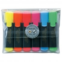 Комплект текстмаркери Faber-Castell Textliner 48, 6 цвята