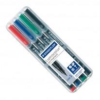 К-т маркери Staedtler Lumocolor 313S, 0,4 мм, перманентен