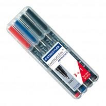 К-т маркери Staedtler Lumocolor 318F, 0,6 мм, перманентен