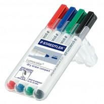 Комплект маркери за бяла дъска Staedtler 341, 4 цвята