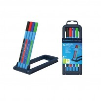 Химикалка Schneider Slider Edge XB, к-т четири цвята