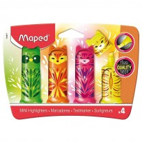 Текстмаркер Maped Fluo Peps Mini Friends