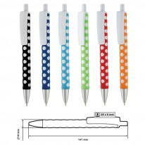Пластмасова химикалка MP-9158