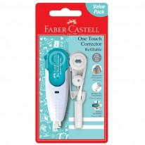 Коректор Faber-Castell One Touch , коректор и пълнител 5мм x 6м