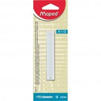 Резервни ножчета Maped, 9 мм, 10 броя