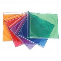 Кутия за 1 бр. CD, цветна