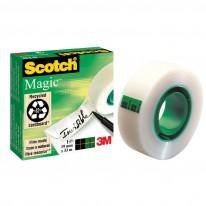Лепяща лента Scotch Magic 810, 19 мм х 33 м, невидима