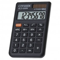 Калкулатор Citizen SLD 200 N, 8 разряден