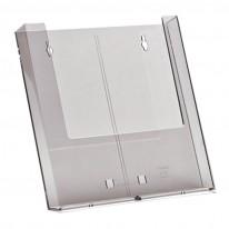 Поставка за брошури W230, A4, вертикална, 230х32 мм