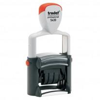Датник Trodat Professional 5430, 4 мм, с възможност за поставяне на клише 41 х 24 мм