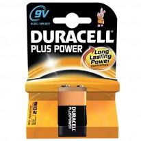 Алкална батерия Duracell 6LR61, 9V