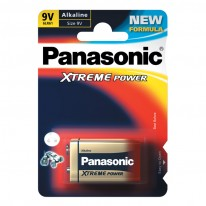 Батерия Panasonic 6LR61, 9V