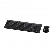 Комплект клавиатура и мишка Hama Trento 50445, Безжичен, Черен