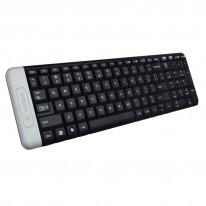 Мултимедийна безжична клавиатура Logitech K230