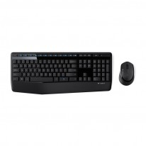 Комплект мултимедийна безжична клавиатура и мишка Logitech MK345
