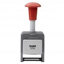 Номератор Trodat Professional 5756M, автоматичен, метален, 5.5 мм, 6 цифри