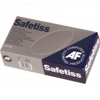 Сухи хартиени кърпи AF Safetiss STI200 за офис оборудване, 200 бр. в кутия