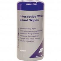 Почистващи кърпички AF WBW100T за интерактивна дъска, в PVC кутия