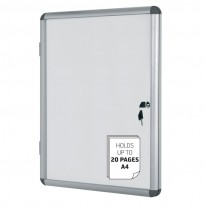 Информационно магнитно бяло табло, 6 х А4