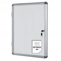 Информационно магнитно бяло табло, 12 х А4