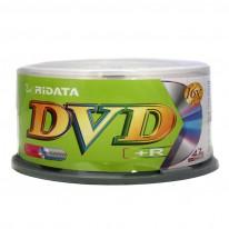 DVD+R диск Ridata, 4.7GB, 16x, шпиндел 25 бр.