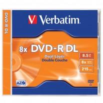 DVD+R DOUBLE LAYER диск VERBATIM, 8.5GB, 8x
