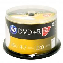 DVD+R диск HP, 4.7GB, 16x, шпиндел 50 бр.