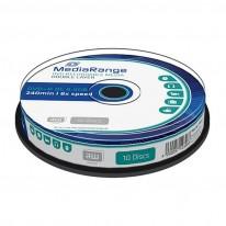 DVD+R диск Media Radge Dual Layer, 8.5GB, 16x, шпиндел 10 бр.